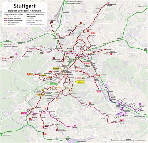 stuttgart on map public transport in stuttgart germany joy della vita