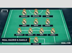How Real Madrid will line up with Danilo Spain 01