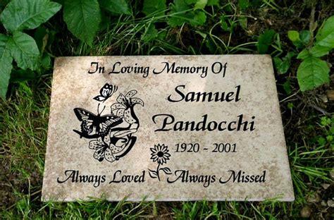 items similar to garden memorial plaque 12x8 quot durable
