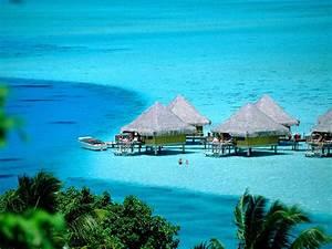 Beautiful Island Tourism Tahiti French Polynesia ...