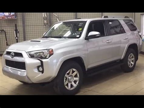 toyota runner trail edition review youtube