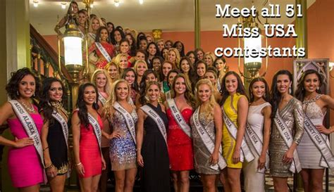 miss usa 2015 meet all 51 contestants nola