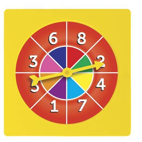 Ruleta de numeros hasta 10 - Recursos didcticos