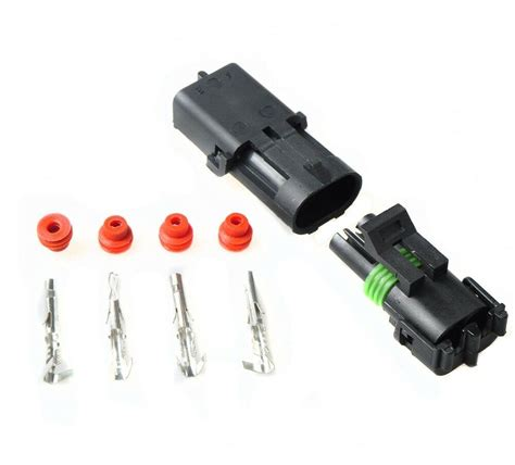 Kits Waterproof Pin Wire Connector Plug Set For Led