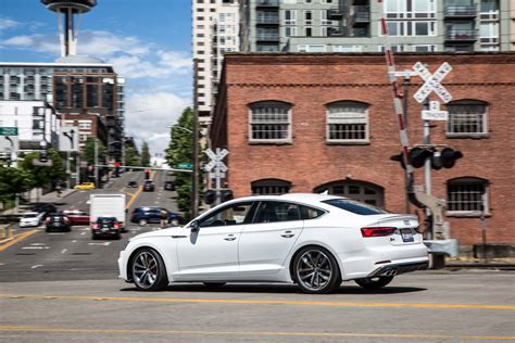 First Drive 2018 Audi A5 And S5 Sportback Auto Breaking