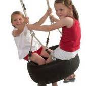 Langley Swing by Langley Rope And Tyre Garden Swings Buy From