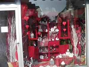 Vitrine Saint Valentin : d co vitrine st valentin a st br vin loire atlantique ~ Louise-bijoux.com Idées de Décoration