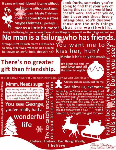 Wonderful Life Christmas Quotes