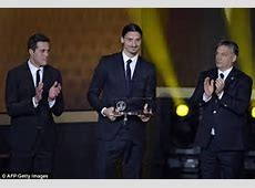 Zlatan wins FIFA's goal of the year award for unbelievable