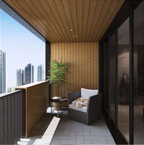 balcony solution composite timber decking composite wood cladding