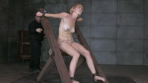 Hogtied Leggy Blondie With Hook In Her Ass Kay Kardia Had