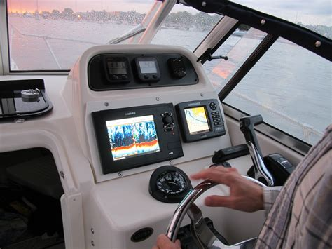 New Boat Gps by Grady 226 New Electronics What Flush Gps Sounder The