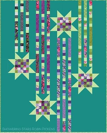 Showering Stars Quilt Robin Pattern Pickens Patterns