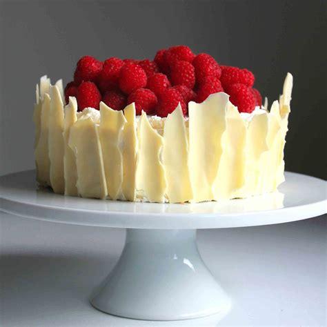 white chocolate cake recipe shard lemon raspberry sponge cake with white chocolate shards