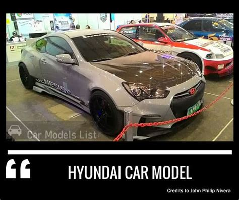 Complete List Of All Hyundai Models