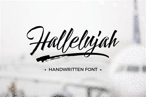 lettering fonts free hallelujah script font befonts 92962