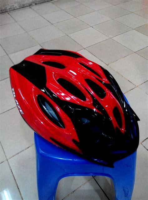 jual helm sepeda merk blaze polygon quot original quot warna hitam merah di lapak run and sport lalanurmala