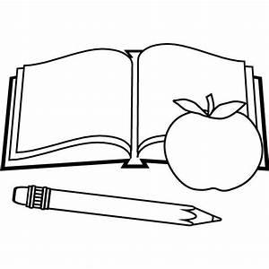 Dibujos para colorear de materiales escolares