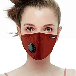 UTRIPSUNEW Anti Pollution Safety Mask with Breathing Valve
