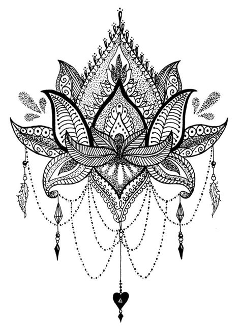 High Quality Supreme Fake Tattoo Mandala Flower Waterproof