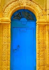 Yellow Moroccan Door