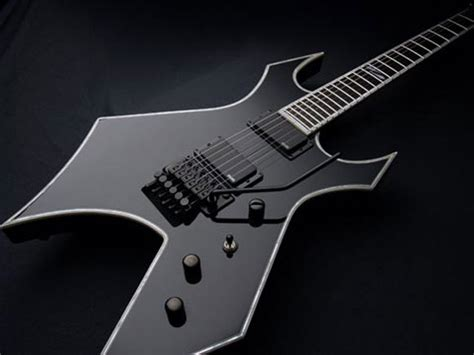 bc rich warlock nj deluxe electric guitar onyx finish