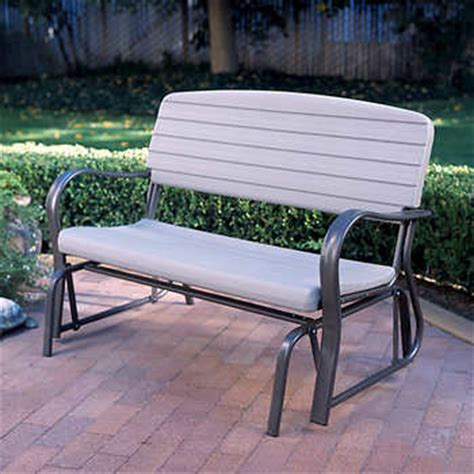 benches gliders