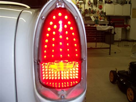 57 chevy led tail lights led tail lights for my 55 page 3 trifive com 1955