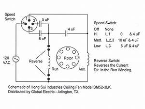 Ceiling Fan - Bypass Variable Speed  - Electrical