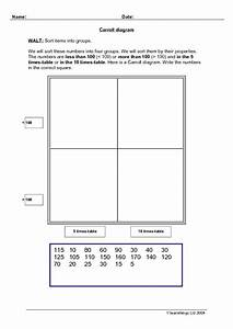 Carroll Diagram Worksheet For 2nd