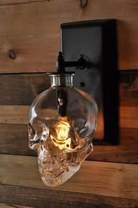 Lampadari  Appliques E Lampade In Stile Industriale Creati Con Bottiglie Riciclate