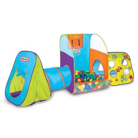 brightly colored  tikes pop  fun zone tent