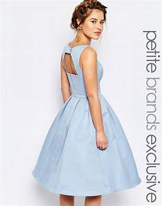 shoptagr chi chi london petite skater midi dress with With suncoo robe patineuse