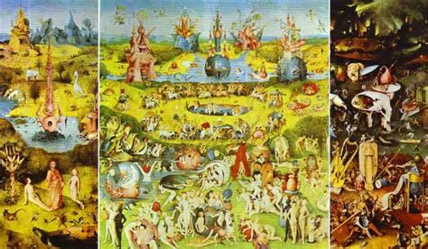 hieronymus bosch garden of earthly delights poster the delights of seeing utopia dystopia