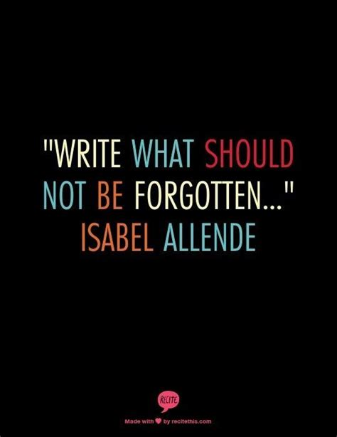Two Words Isabel Allende Quotes