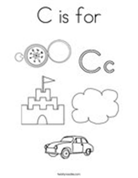 C Is For Cloud Coloring Page Twisty Noodle Letter C Coloring Pages Twisty Noodle