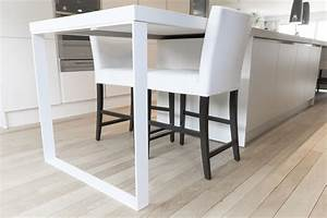 Mange Debout 6 Personnes : table contemporaine pour cuisine ~ Teatrodelosmanantiales.com Idées de Décoration