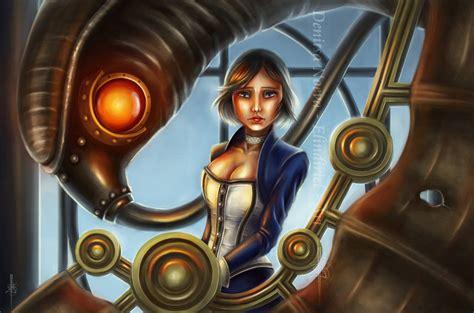 Bioshock Infinite Elizabeth And Songbird By Elindiriel