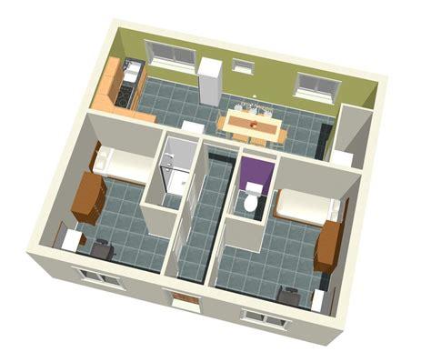 3d cuisine descriptif chambres etudiants
