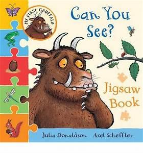 My First Gruffalo: Can You See? Jigsaw Book : Julia ...