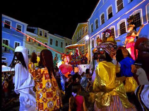 carnaval nuit salvador de bahia bresil hd collection
