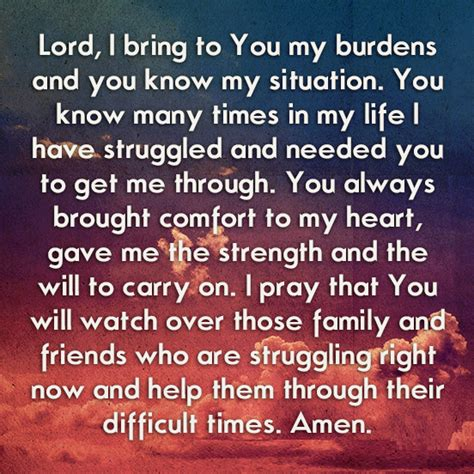 a prayer of comfort lord i bring to you my burdens pictures photos and