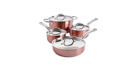 piece cookware set copper  target kitchen products popsugar home photo