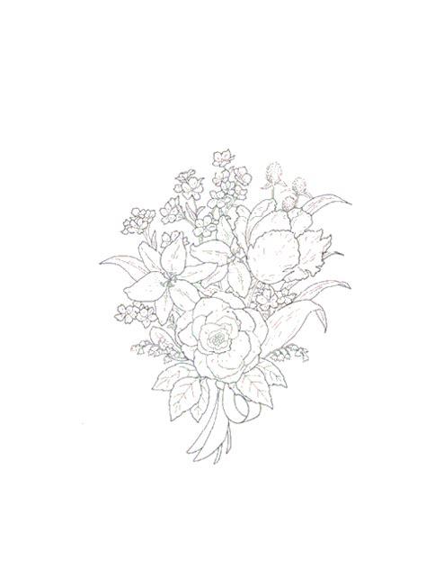 kleurplaat bloemen boeket animaatjesnl