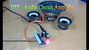How To Make Circuit Amplifier Simple  Use Ic La4440