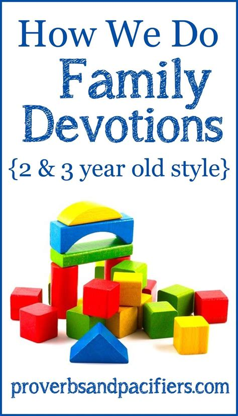family devotional ideas for toddlers easy and 441 | f0805f6ef2cbbe09e11262e71c716cc7