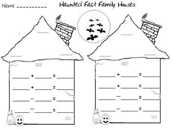 veterans day math fact family worksheets veterans best