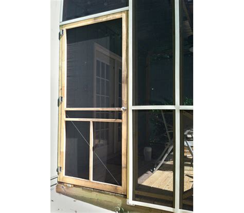 learned building  screened  porch