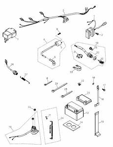 battery and wire harness adly atv q280 With adly wiring