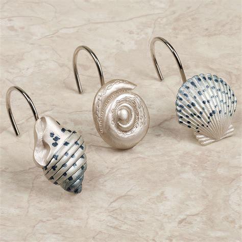 shower curtains seashells interior decorating